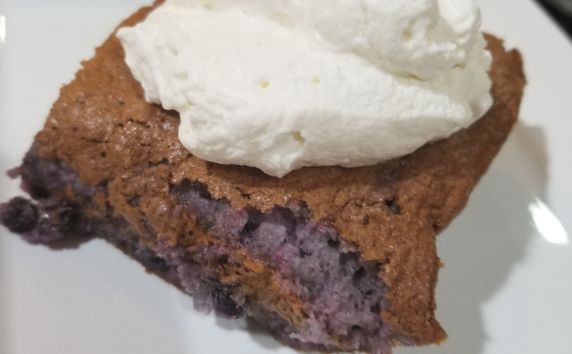 2 Ingredient Berry Angel Food Cake